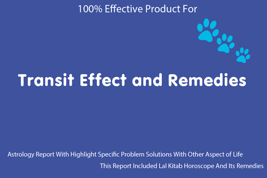Transit Effect and Remedies horoscope