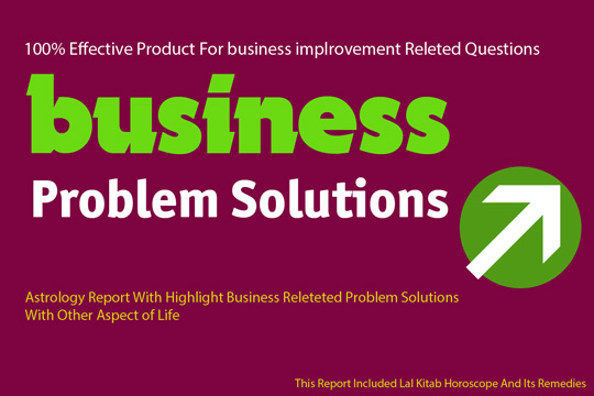 Business Problems Solution